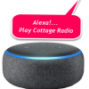 Listen with your Amazon smart speaker anywhere in your home, cottage or back yard